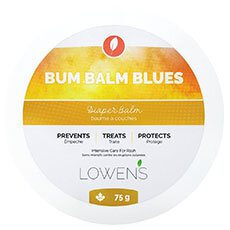 Bum Balm Blues - Intensive care for rash BY LOWENS.CA #diaperrash #bumbalm #skinbalm #babybalm #allnatural #canadiangreenbeauty