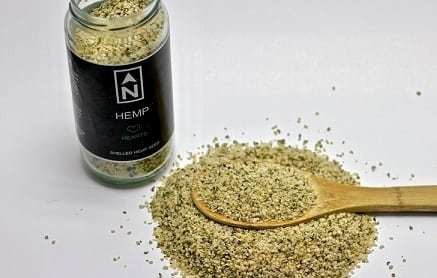 True North Hemp Seeds And Spoon