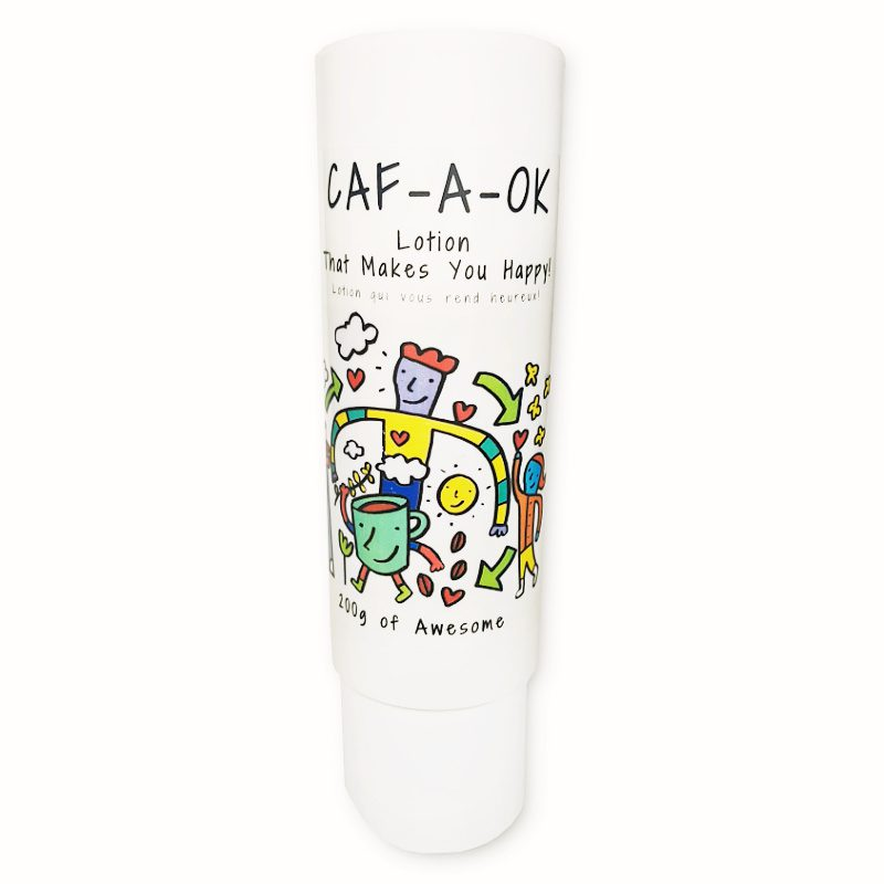 Caf-A-OK – Lotion That Makes You Happy!